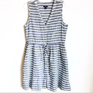Gap Striped Sleeveless Dress